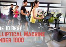 Best Elliptical Machine Under 1000