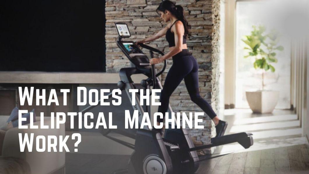What Does the Elliptical Machine Work