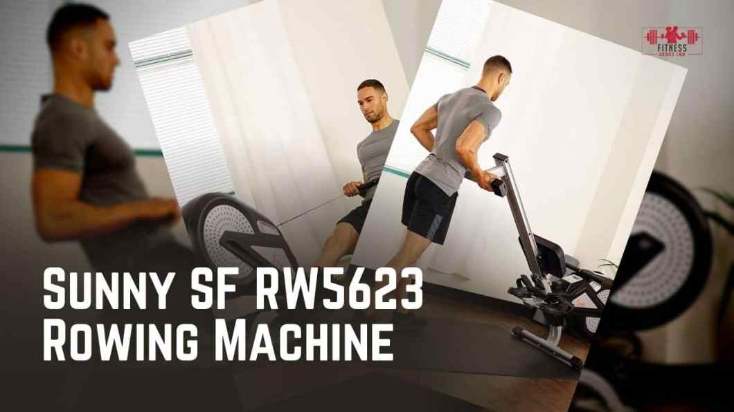 Sunny SF RW5623 Rowing Machine Review