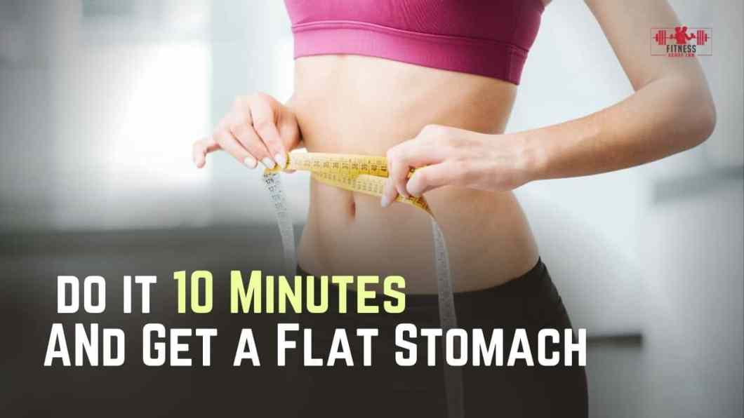 Japanese Technique 10 Minutes a Day to Get a Flat Stomach