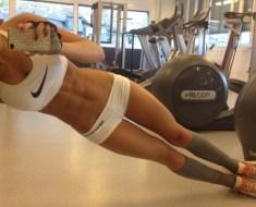 Sexy Fitness Model Stephanie Davis