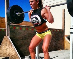 girls squatting