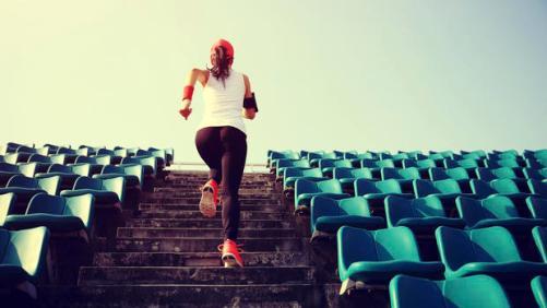 woman-running-stairs