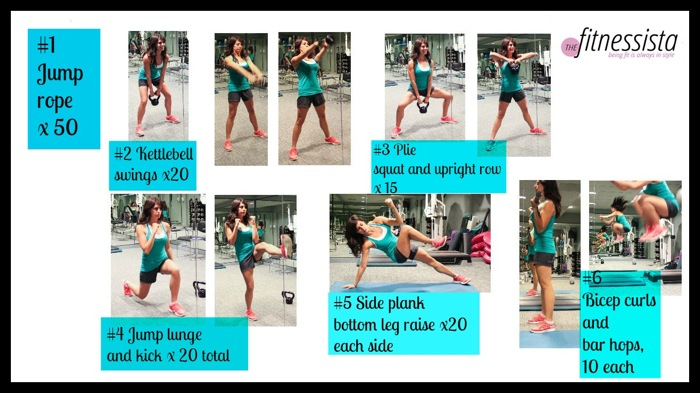 Fitnessista November Knockout Workout
