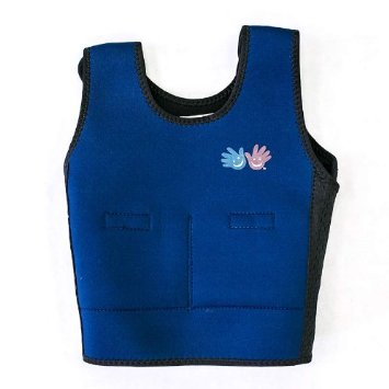 Fun and Function's Blue Weighted Compression Vest review -best kids weighted vest