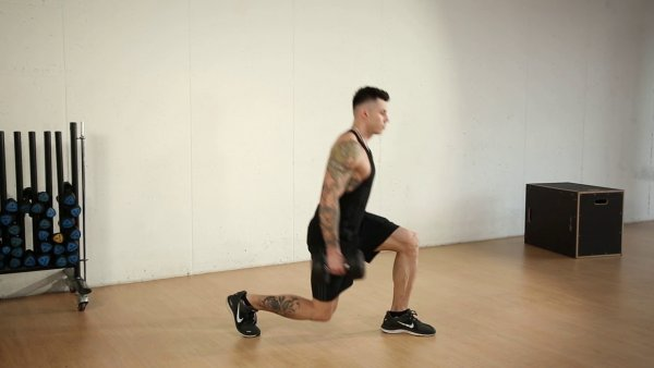 Legs Exercise: Lunges