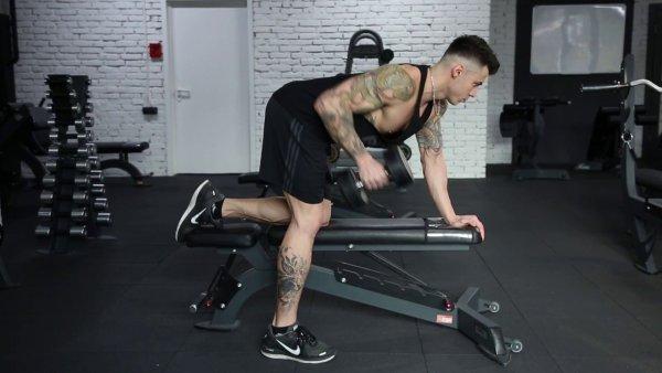 Single Arm Row Exercise