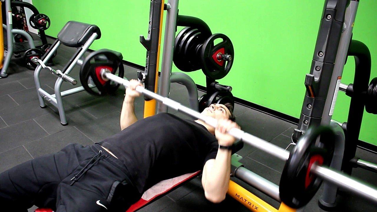 Fitness Barbell Bench Press Fitnesslane