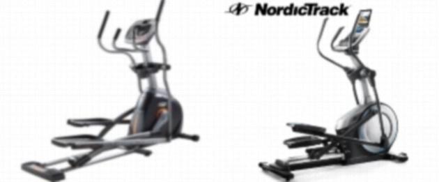 AFG Sport 3.5AE Elliptical vs NordicTrack E7.0 Z