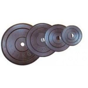 Gumis súlytárcsa 5 kg-os (31mm) - Robust