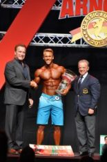 Arnold Classic Europe Men's Physique champion 2017