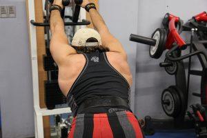 Exercice de tirage du dos