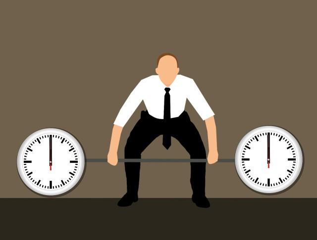 Le temps et la musculation