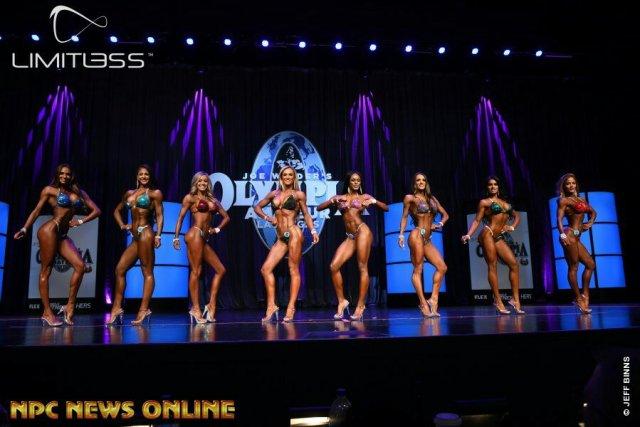 Bikini overall comparaison Olympia amateur Las Vegas 2019