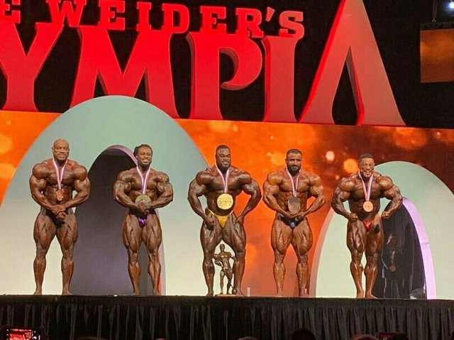 Top 5 Bodybuilding Mr Olympia 2019