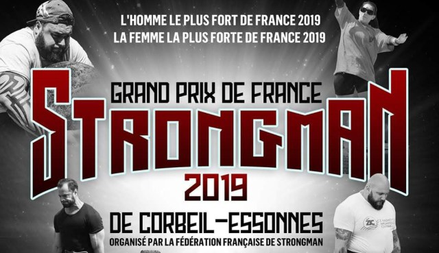 Grand prix de France de StrongMan 2019