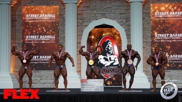 Finalistes de la catégorie 212 bodybuilding à Mr Olympia.