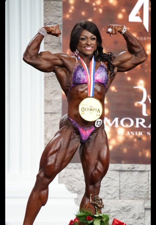 Andrea Shaw remporte la catégorie Ms. Olympia 2020