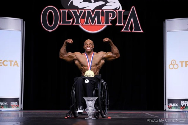 Harold Kelley remporte la catégorie wellchair à Mr Olympia 2020
