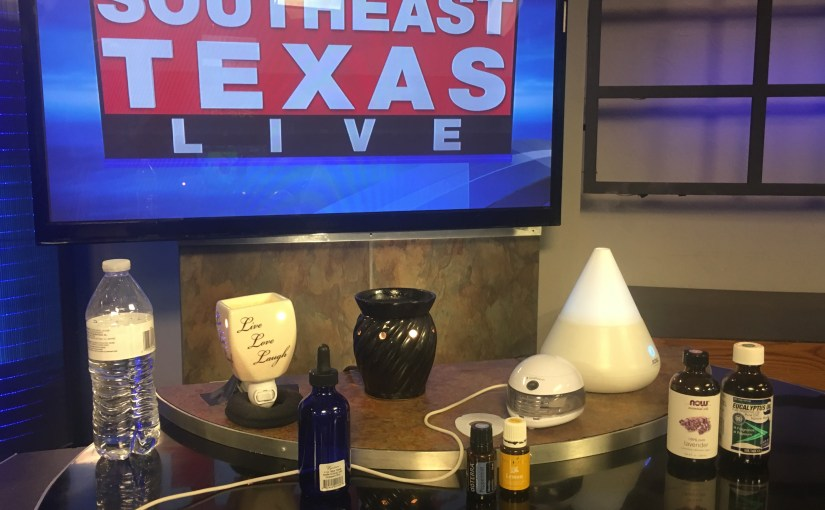 Diffusing Essential Oils for Health and Well-Being