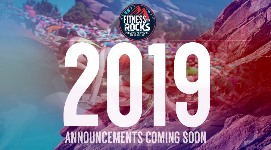 Fitness On The Rocks 2019 Pre Announcement Graphic