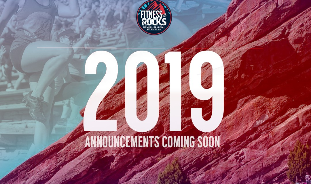 Fitness On The Rocks 2019 Announcement