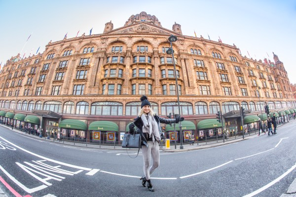 Harrods London Clothes