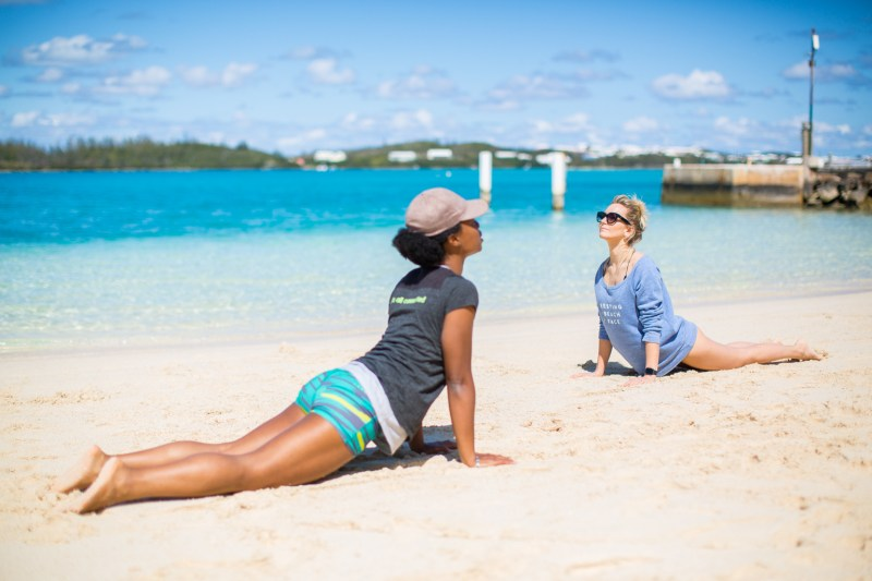 Fitness On Toast Faya Blog Girl Healthy Workout Sailing Trip Bermuda Americas Cup Sailing British Team Land Rover Workout Overseas Territory-87