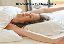 Right Mattress for Fitness Gains