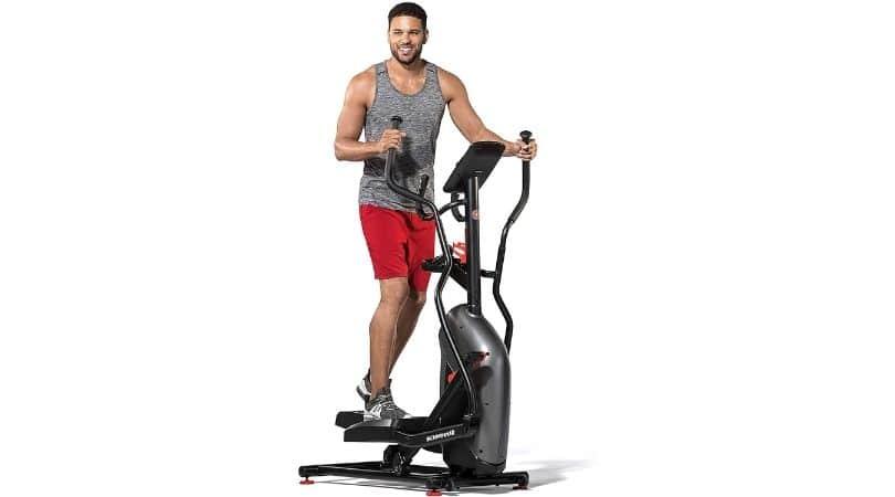 Long stride ellipticals