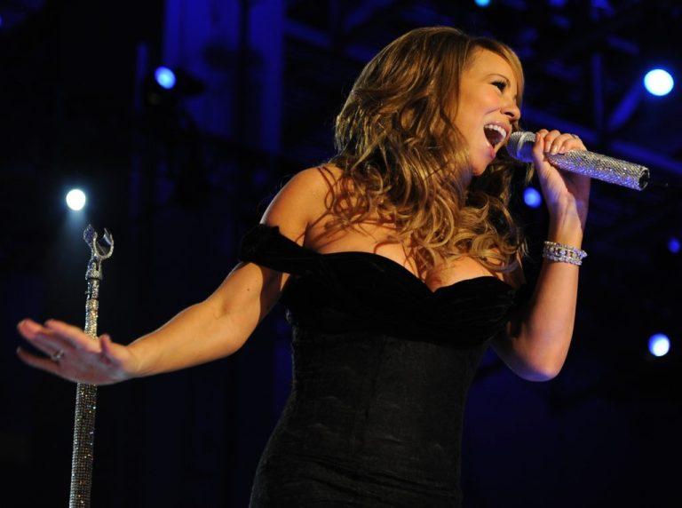 Mariah Carey Works Out in Stilettos
