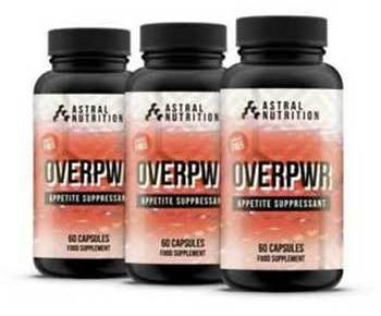 Overpowr appetite suppressant