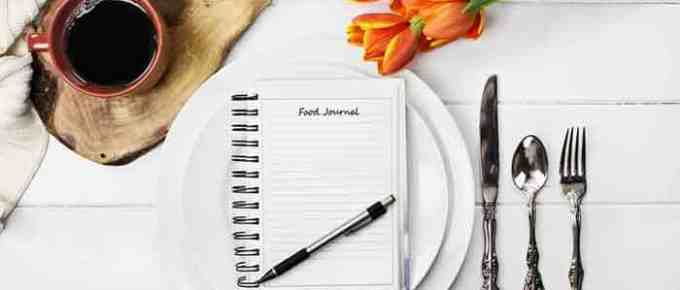 Benefits of a food journal