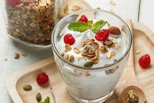 Yoghurt good for burning fat