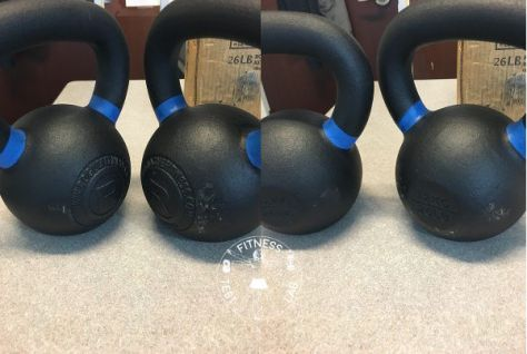 Kettlebell Reviews 2017 - Rogue Fitness Kettlebells Review First and Second Kettlebells Comparison Front and Back