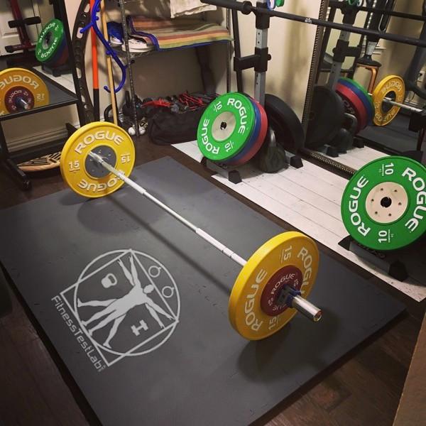 diy lifting platform fitness