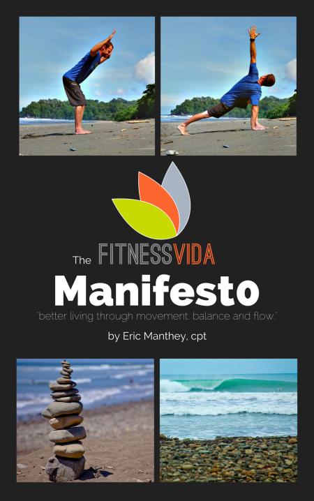 fitness vida manifesto book by fitness coach eric manthey