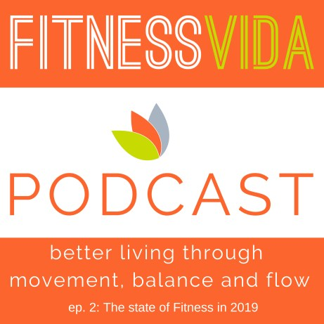 Fitness Vida Podcast 002 The state of Fitness in 2019 cover