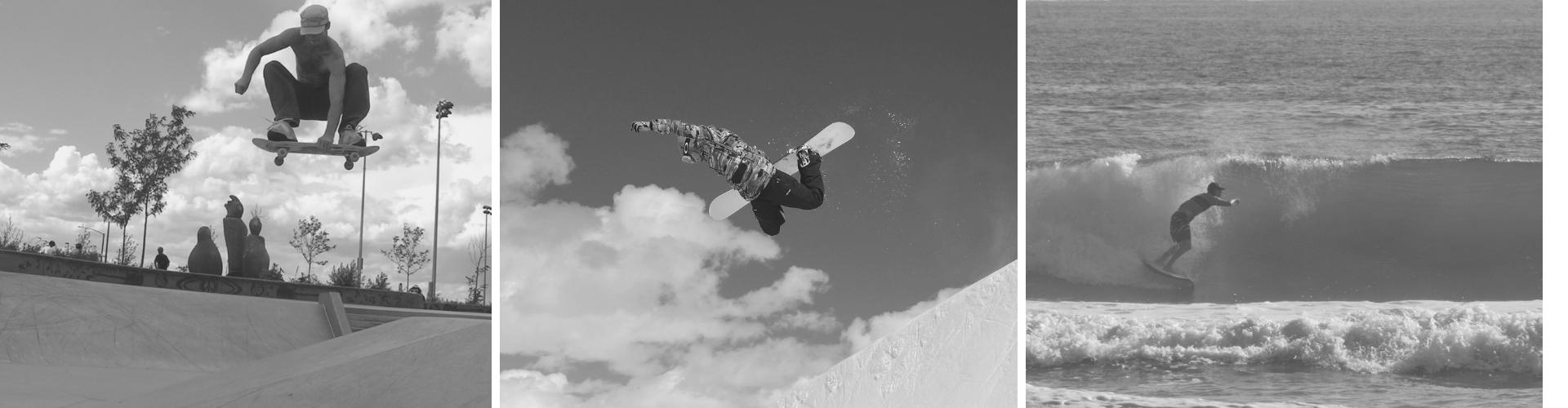 Fitness Vida coach Eric Manthey Skate snow surf image