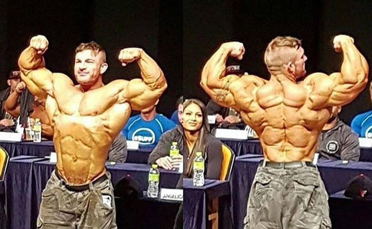 Flex Lewis Back Has Packs  Fitness Volt Bodybuilding  Fitness News