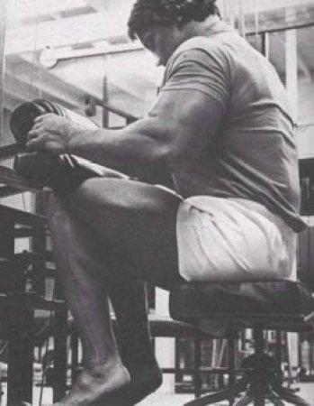 Arnold Schwarzenegger Calf Raise Seat