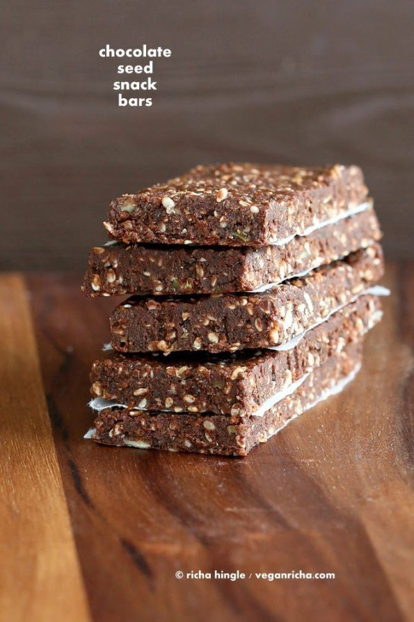 Super Seed Chocolate Protein Bars - Fitness with PJ blog
