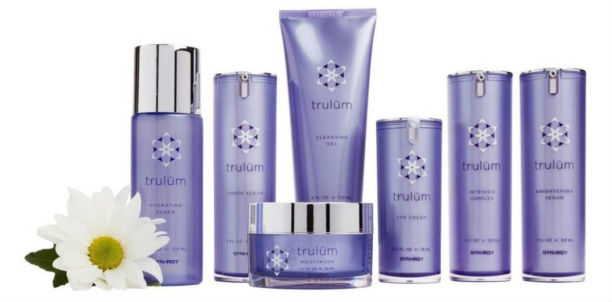 trulum skin care products