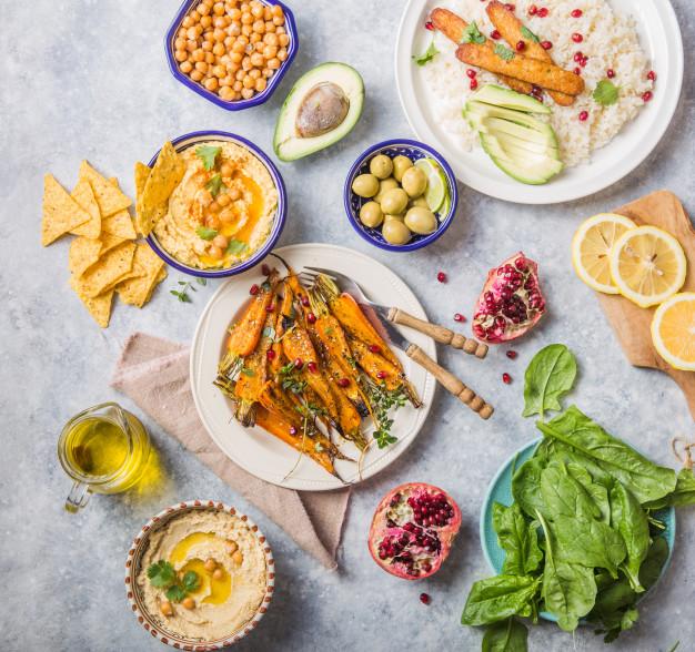 Alimentación basada en plantas