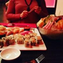 Sushi with my bestie