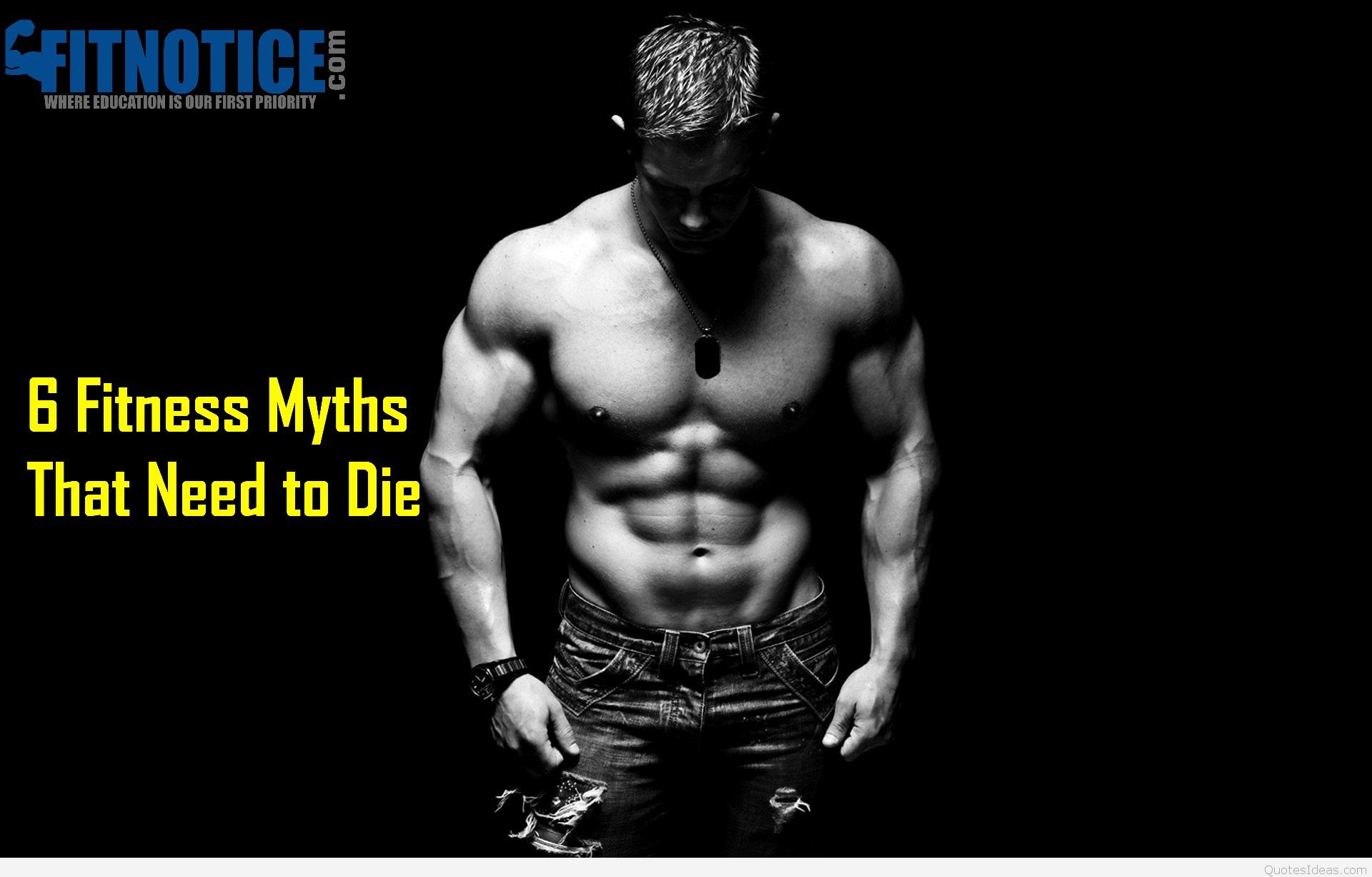 6 Fitness Myths