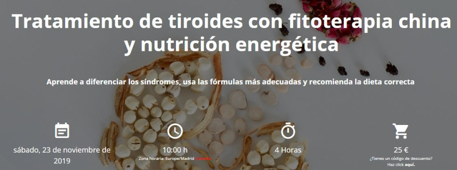 Tratamiento de tiroides con fitoterapia china
