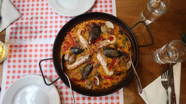 Places to visit in Madrid - best place for Spanish lunch