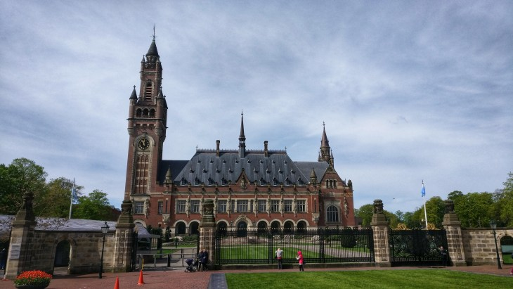 Things to do in the Hague - visit Peace Palace