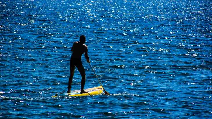 Top 10 unconventional fitness experiences - Paddle board and SUP
